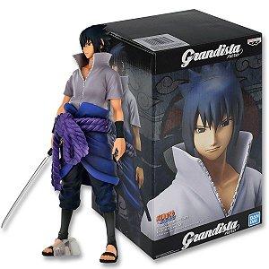Action Figure Naruto Shippuden – Uchiha Sasuke – Grandista Nero - Bandai Banpresto