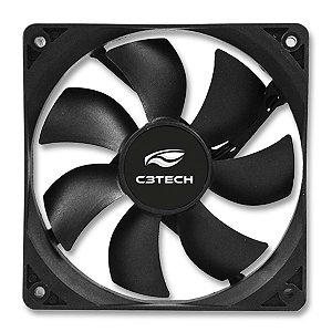 Cooler Fan Silencioso 80mm - C3Tech F7-50BK Storm Séries