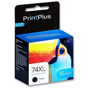 Cartucho Compatível HP 74XL Preto 25ml CB336W - PrintPlus PP074