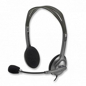 Headset Estéreo Empresarial - Logitech H111