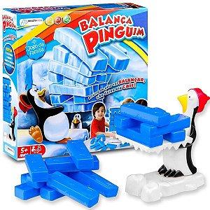 Brinquedo Infantil Jogo Balança Pinguim - Multikids BR1289