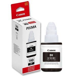 Refil de Tinta Original Canon Pixma GI – 190 BK Preto 135ml