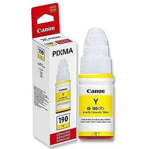 Refil de Tinta Original Canon Pixma GI – 190 Amarelo 70ml