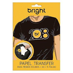 PAPEL TRANSFER BRIGHT TEC. ESCURO 5 FLS