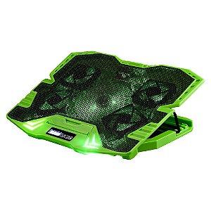 COOLER WARRIOR AC292 GAMER VERDE LED