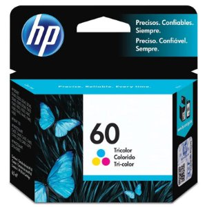 Cartucho Hp 60 Cc643wb Color