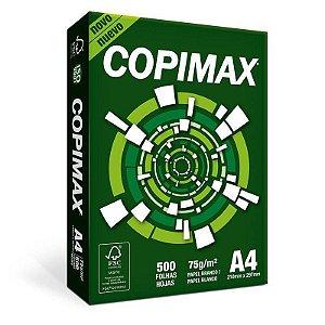 PAPEL COPIMAX A4 500 FOLHAS GR75