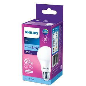 LAMPADA  LED PHILIPS 9W E27 FRIA BC.806LM