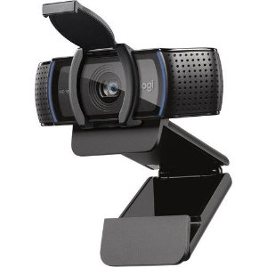 WEBCAM HD LOGITECH C920S PRETO