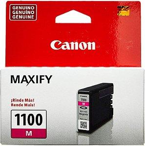 Cartucho De Tinta Original Canon Pgi 1100 4,5ml Magenta MB2010 Mb2110 Mb2710