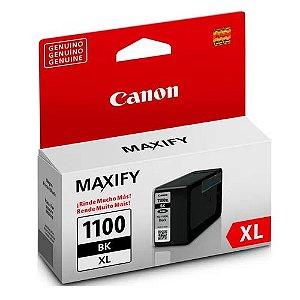 Cartucho De Tinta Original Canon Pgi 1100 xl 34,7ml Preto MB2010 Mb2110 Mb2710