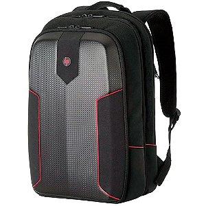 Mochila Gamer para Notebook até 15.6´ HP, Original, Preta e Vermelha - 3EJ61LA