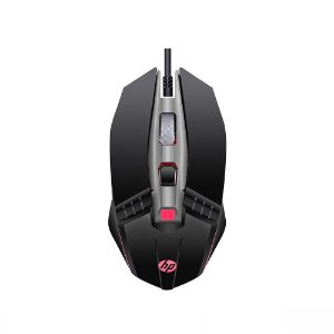 Mouse Gamer Hp 6 Botoes 2400 Dpi M270 Com Led 7ZZ87AA Preto