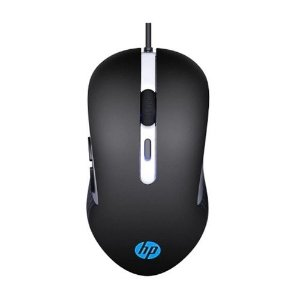 Mouse Gamer Hp 6 Botoes 3200 Dpi G210 Com Led 7ZZ89AA - Preto