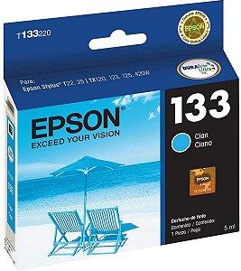 Cartucho de Tinta Epson 133 Original T133 5ml - Ciano