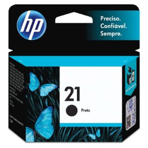 Cartucho De Tinta Hp 21 C9351ab Preto 7ml