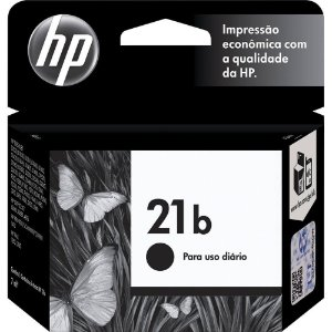 Cartucho De Tinta Hp 21b C9351bb  Preto 7ml