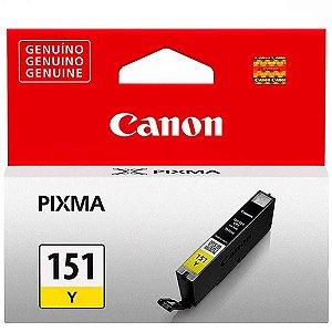 Cartucho De Tinta Canon Cli-151 7ml Amarelo