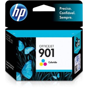 Cartucho Hp 901 Cc656ab 13ml Tricolor