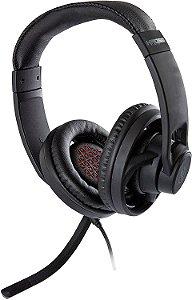 Headset Gamer Kross KE-HS100, Elegance, Stereo, Drivers 40 mm, Multi-Plataforma com Adaptador Y