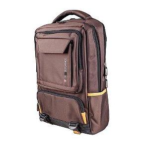 Mochila Para Notebook Até 15.6 Comfort Kross Elegance, KE- BPM20 - Marrom