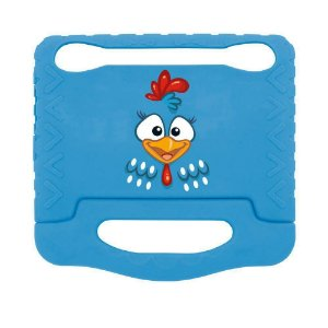 Capa Para Tablet 7 Pol Multilaser Case PR930 Galinha Pintadinha Azul