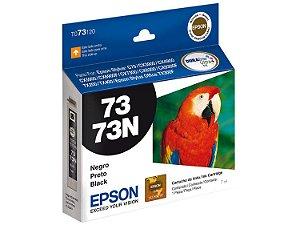 Cartucho de Tinta Epson 73 T073120 7ml Original T073 - Preto