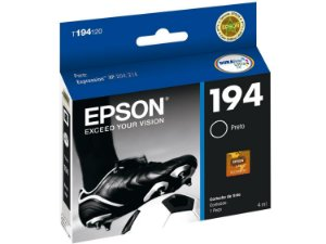 Cartucho de Tinta Epson 194 T194120 4ml Original T194 - Preto