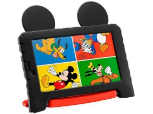Tablet Infantil Multilaser Mickey Mouse Plus Wi Fi Tela 7 Pol. 16GB Quad Core - NB314