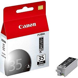 Cartucho de Tinta Canon PGI 35 9,3ML Preto Original pgi35 | Ip100, Ip110, Tr150