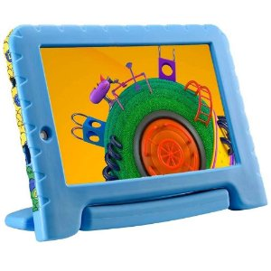 Tablet Multilaser Discovery Kids, Android 8.1, 16GB, Dual Câmera, Tela de 7´ - NB309