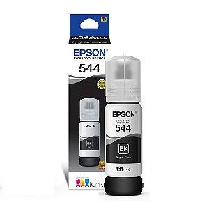 Refil de Tinta Epson 544 Original Refil T544120 Preto 65ml C13t00n12a