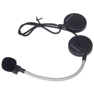 Fone De Capacete Bluetooth Headset Intercomunicador Handsfree Multilaser Mt603