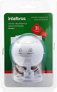 Sensor de Presença Interruptor para iluminação Intelbras ESP 360 A - Branco