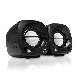 Caixa de Som Portátil Usb Preta - Sp303 Speaker 2.0 C3 tech