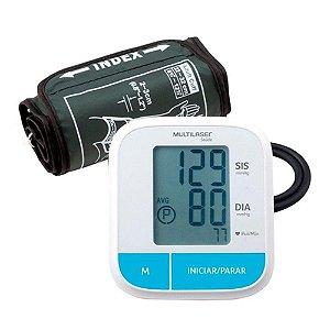 Monitor de pressão arterial digital de braço silencioso - HC206 Multilaser