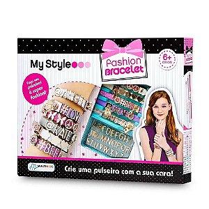Kit de Pulseiras My Style Fashion Bracelet - Multikids BR097