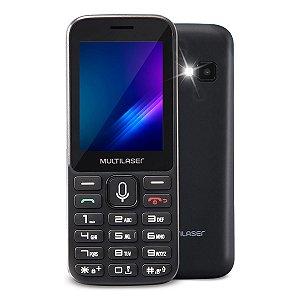 Celular Multilaser Zapp P9098 512mb - Preto