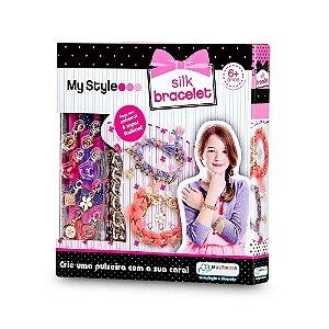Kit de Pulseiras My Style Silk Bracelete De Seda - Multikids Br099