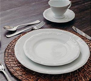 Aparelho de Jantar Chá Schmidt Porcelana Pomerode 30 Peças