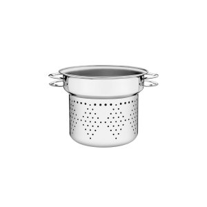 Cozi-Pasta Tramontina Solar em Aço Inox Alças 20 cm 4,6 litros