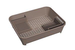 Escorredor de Louças Basic 45 x 35 x 10,5 cm - Warm Gray Coza
