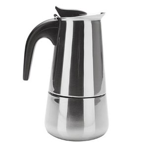 Cafeteira Aço Inox para 6 Cafezinhos
