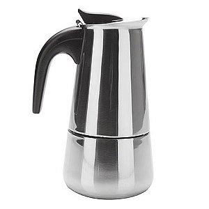 Cafeteira Aço Inox para 4 Cafezinhos
