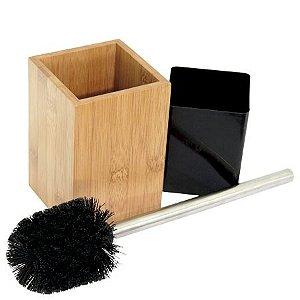 Kit Limpeza para Banheiro Ecokitchen em bambu