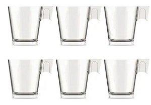 Jogo de Xícaras de Café Espresso com 6 peças - Class Home