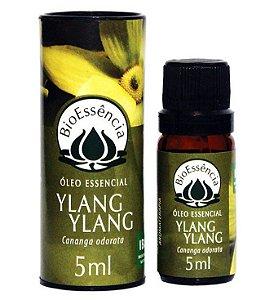 Óleo Essencial De Ylang Ylang / Cananga odorata 05 ml