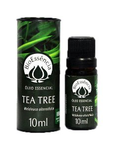 Óleo Essencial De Tea Treee / Melaleuca alternifolia 10 ml