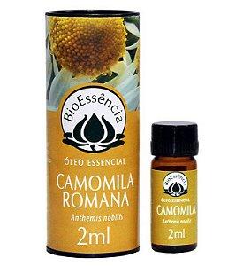 Óleo Essencial De Camomila Romana / Anthemis nobillis 02 ml