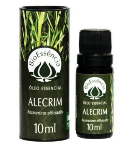 Óleo Essencial De Alecrim / Rosmarinus officinalis 10 ml